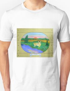 The Fawn , at Sunrise, Sunset Unisex T-Shirt