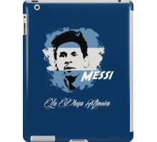 ARGENTINA LIONEL MESSI WC 14 FOOTBALL T-SHIRT iPad Case/Skin