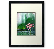 Bedraggled Pink Framed Print