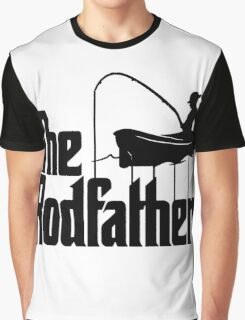 The RodFather - Funny Godfather Fishing T-shirt Graphic T-Shirt