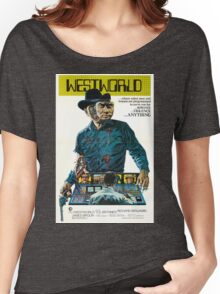 Westworld Movie Poster Women's Relaxed Fit T-Shirt
