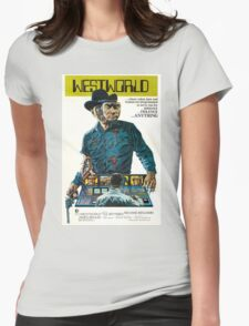 Westworld Movie Poster Womens Fitted T-Shirt