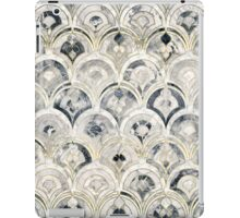 Monochrome Art Deco Marble Tiles iPad Case/Skin