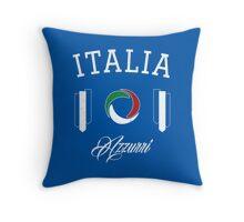 Italia Azzurri Throw Pillow