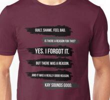 Shameless. Unisex T-Shirt