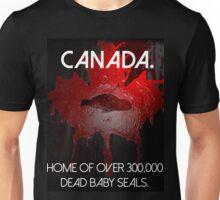 Anti-Fur Canadian Seal Hunters Unisex T-Shirt