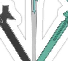 KIRITO AND ASUNA'S SWORD Sticker