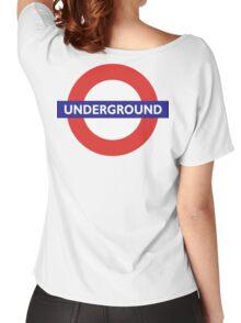UNDERGROUND, TUBE, LONDON, GB, ENGLAND, BRITISH, BRITAIN, UK Women's Relaxed Fit T-Shirt