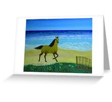 Feeling Free Horse Greeting Card