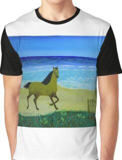 Feeling Free Horse Graphic T-Shirt
