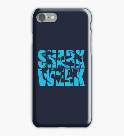 Shark Week Abstract iPhone Case/Skin