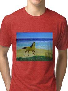 Feeling Free Horse Tri-blend T-Shirt
