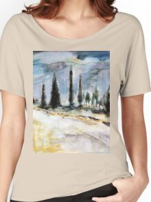Borgo del Grillo, Tuscany Women's Relaxed Fit T-Shirt