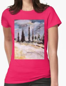 Borgo del Grillo, Tuscany Womens Fitted T-Shirt