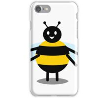 funny friendly bumble bee iPhone Case/Skin
