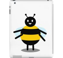 funny friendly bumble bee iPad Case/Skin