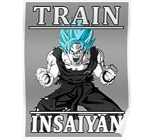 Train insaiyan god Poster