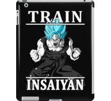 Train insaiyan god iPad Case/Skin