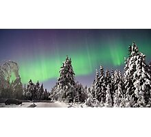 Lady Aurora Photographic Print