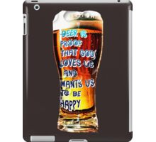 Why God Love Us iPad Case/Skin