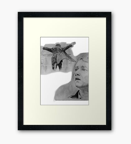 The Reichenbach Fall Framed Print