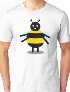 funny friendly bumble bee Unisex T-Shirt