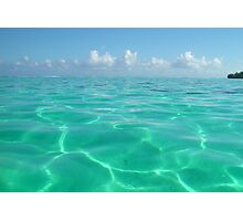 Turquoise Water, Polynesia Photographic Print