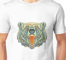 Head Of The Growling Bear Unisex T-Shirt