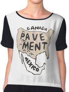 Pavement North America Indi grunge band mens ladies Chiffon Top