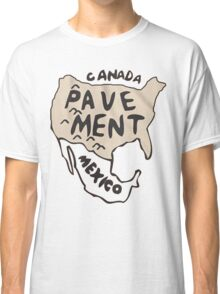 Pavement North America Indi grunge band mens ladies Classic T-Shirt