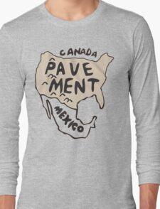 Pavement North America Indi grunge band mens ladies Long Sleeve T-Shirt
