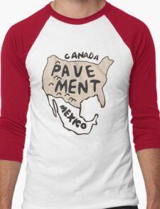 Pavement North America Indi grunge band mens ladies Men's Baseball ¾ T-Shirt