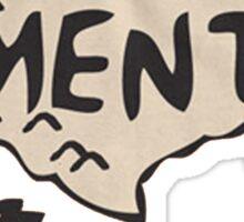 Pavement North America Indi grunge band mens ladies Sticker
