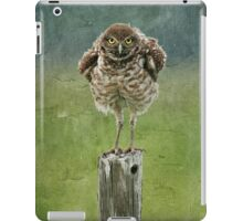 Burrowing Owl iPad Case/Skin