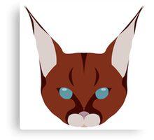 Linx Head Logo Canvas Print