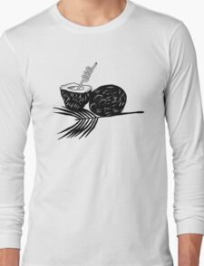 Exotic Coconut Long Sleeve T-Shirt