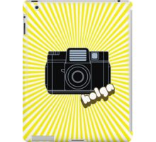 Holga Camera with Yellow Rays iPad Case/Skin