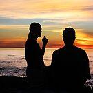 Conversation At Sunset by Heather Friedman