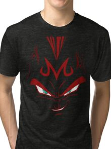 vegeta majin face Tri-blend T-Shirt