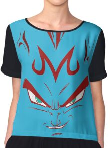 vegeta majin face Chiffon Top