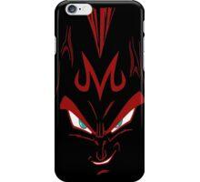 vegeta majin face iPhone Case/Skin
