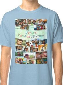 Become Jehovah's Friend - Caleb and Sophia Snapshots (French) Classic T-Shirt
