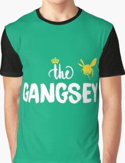 The Gangsey - bee - mint Graphic T-Shirt