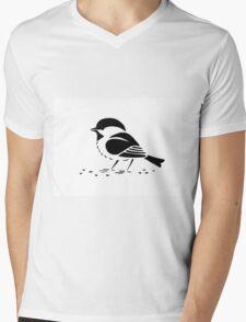 Sparrow Mens V-Neck T-Shirt
