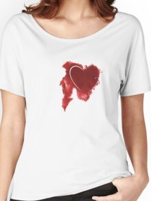 Leaking Heart Women's Relaxed Fit T-Shirt