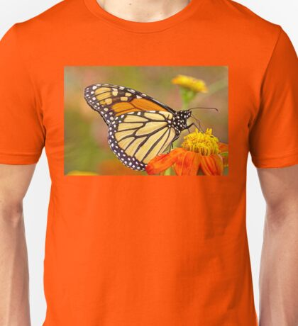 Monarch Of The Flowers Unisex T-Shirt