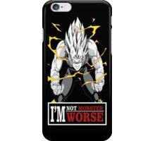 Vegeta monster iPhone Case/Skin