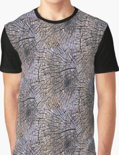 Wood Grain Graphic T-Shirt