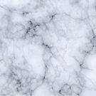 Gray Marble Stone Texture Print by artonwear
