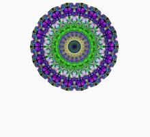 Green Light Mandala Art by Sharon Cummings Unisex T-Shirt